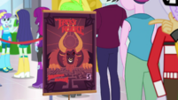Promotional stand for Tirek's Revenge game EGDS2
