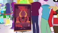 Promotional stand for Tirek's Revenge game EGDS2