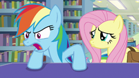 "Rainbow Dash ""we know who you really are!"" S9E21"