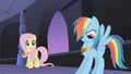 Rainbow Dash admires her necklace S01E02.png