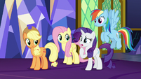 Rarity doesn't know what Yickslurbertfest is S7E11