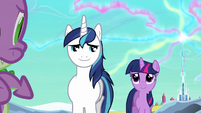 Shining Armor 'Everything's gonna be okay' S3E2