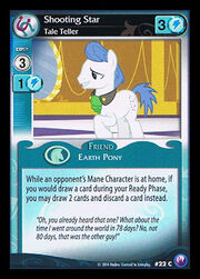 Shooting Star, Tale Teller card MLP CCG