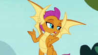 """Smolder """"hanging out with other creatures"""" S8E2"""