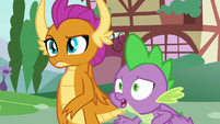 Spike asks Sludge if he's okay S8E24