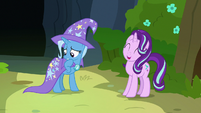 Starlight Glimmer hopeful; Trixie nervous S7E17