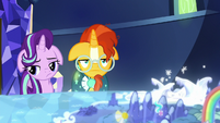 Starlight and Sunburst both very unenthused S8E8