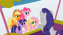 The Crew forgives Rarity S1E16