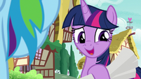 Twilight Sparkle -actually...- S8E20