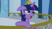 Twilight Sparkle starts singing S4E25