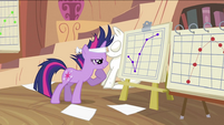 Twilight looking at graph S2E20