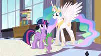 Twilight smiling S4E01