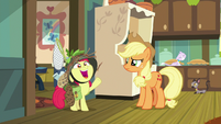 "Apple Bloom ""busiest orchard in Equestria!"" S9E10"
