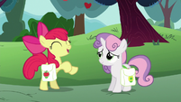 Apple Bloom --I'd rather build the fastest cart-- S6E14