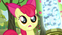 "Apple Bloom asks ""Pest ponies?"" S5E04"
