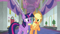 Applejack -the fastest friendship problem- S8E21