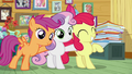 Cutie Mark Crusaders are on the job S7E6.png