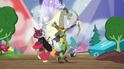 Discord, Big Mac and Spike LARPing S6E17