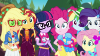 Equestria Girls looking at the festival EGDS44