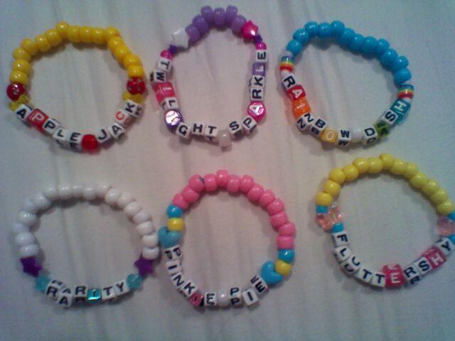 File:FANMADE character bracelets.jpg