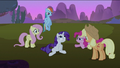 Friends looking at Rarity S2E03.png