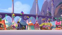 MLP The Movie background art - Festival grounds