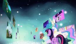 Mundo de los recuerdos de Twilight Sparkle