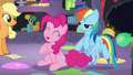 """Pinkie """"everypony I met along the way was so helpful"""" S5E11.png"""