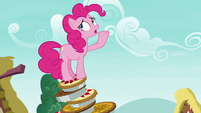 "Pinkie Pie ""I was trying to fix the top pie"" S7E23"