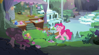 "Pinkie Pie ""tomorrow is today!"" S8E3"
