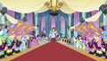 Ponies playing instruments wedding entrance S2E26.png