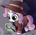 Ponyville Mysteries issue 1 Detective Sweetie Belle
