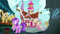 Ponyville ponies hear Pinkie Pie's outburst S7E11.png