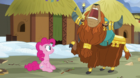 Prince Rutherford shouting -horn bump!- S7E11