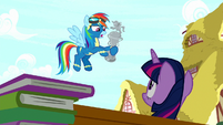 "Rainbow Dash ""for second place"" S8E18"