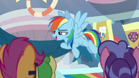 "Rainbow Dash ""my genius happened!"" S8E12"