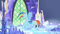 "Rainbow Dash ""there's a ton of room"" S5E01"