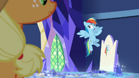 "Rainbow Dash ""to be who he really is"" S8E21"