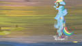 Rainbow Dash evading cymbals S1E10.png