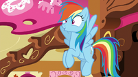 Rainbow Dash getting an idea S8E2