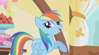 Rainbow Dash laughing -priceless- S1E05