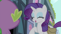 Rarity giggling S4E23