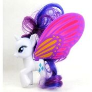 Rarity glimmer wings toy