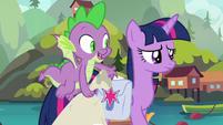 """Spike """"sounds like one busy pony"""" S9E5"""