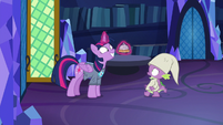 "Spike backs away, asks ""another what?"" S9E16"