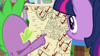 Spike points out last Silver location on map S9E5