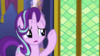 Starlight apologizing to Spike S6E1