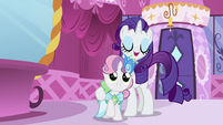 "Sweetie Belle is Rarity's ""plus-one"" S5E7"