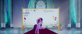 Twilight Sparkle begins her explanation MLPTM