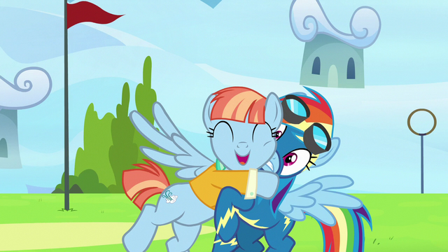 File:Windy Whistles hugging Rainbow Dash S7E7.png
